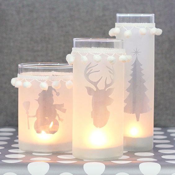 Χριστουγεννιάτικη διακόσμηση με κεριά17