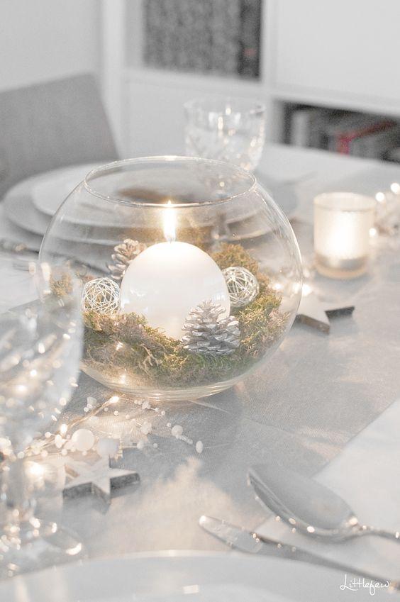 Χριστουγεννιάτικη διακόσμηση με κεριά21