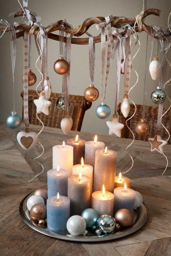 Χριστουγεννιάτικη διακόσμηση με κεριά28