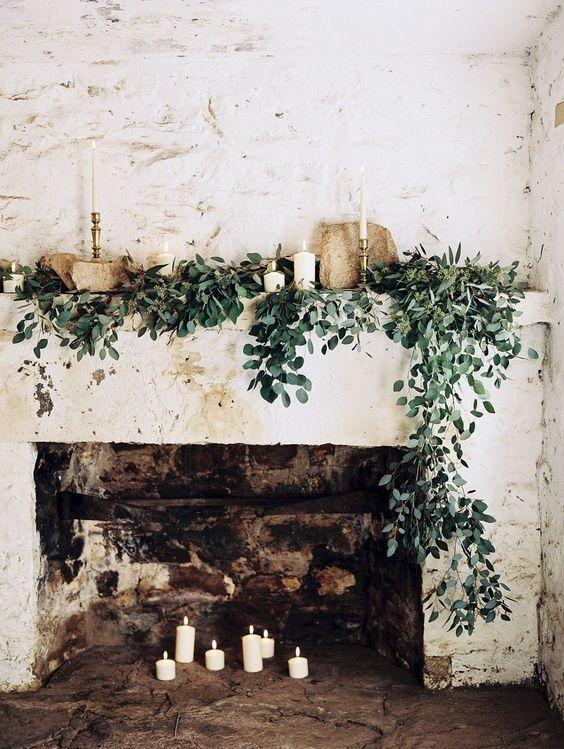 Χριστουγεννιάτικη διακόσμηση με κεριά31