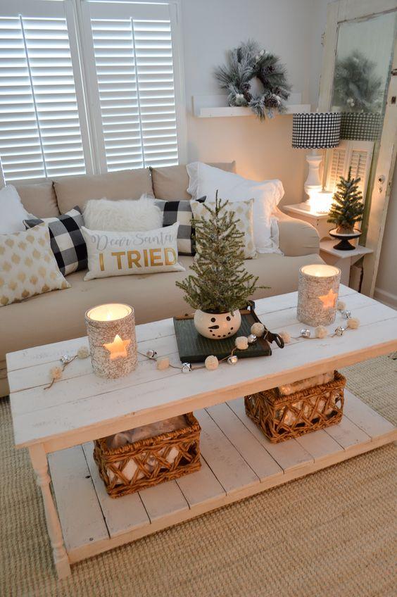 Χριστουγεννιάτικη διακόσμηση με κεριά36