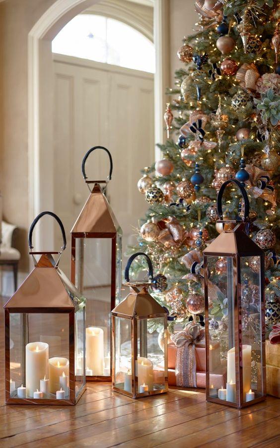 Χριστουγεννιάτικη διακόσμηση με κεριά38