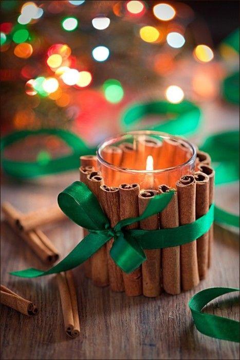 Χριστουγεννιάτικη διακόσμηση με κεριά4