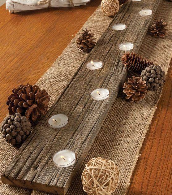 Χριστουγεννιάτικη διακόσμηση με κεριά41