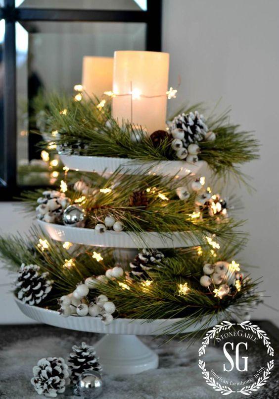 Χριστουγεννιάτικη διακόσμηση με κεριά46