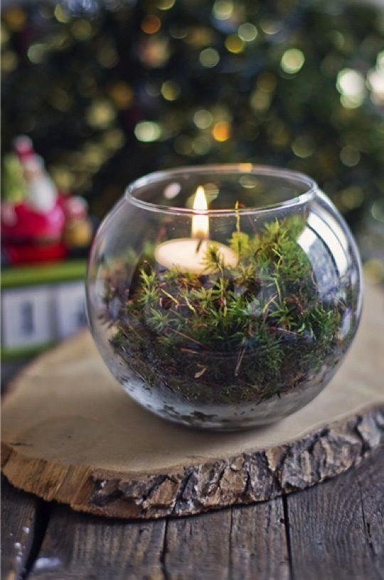 Χριστουγεννιάτικη διακόσμηση με κεριά47