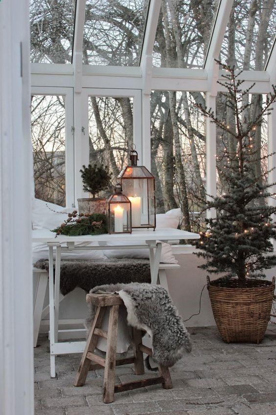 Χριστουγεννιάτικη διακόσμηση με κεριά49