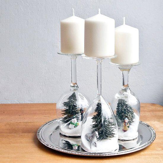 Χριστουγεννιάτικη διακόσμηση με κεριά5