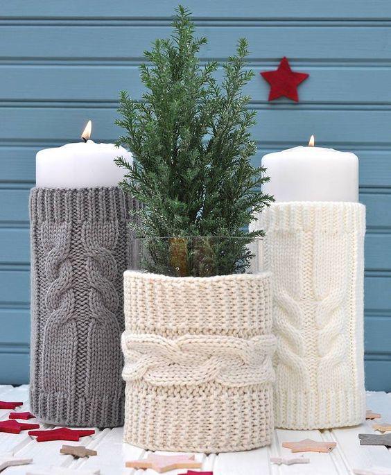Χριστουγεννιάτικη διακόσμηση με κεριά50