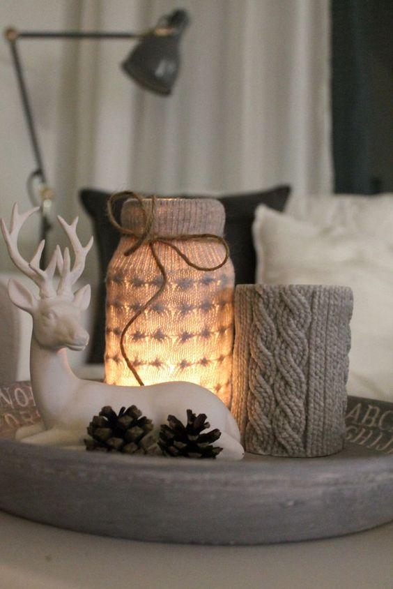 Χριστουγεννιάτικη διακόσμηση με κεριά52