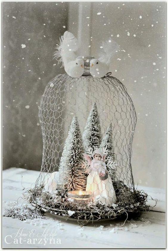 Χριστουγεννιάτικη διακόσμηση με κεριά53
