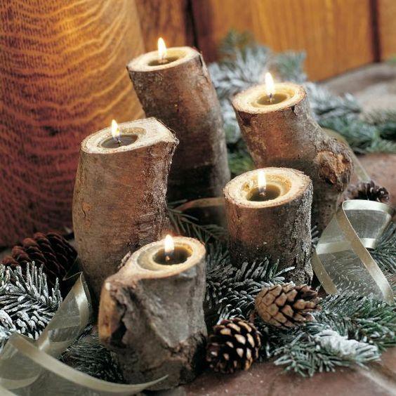 Χριστουγεννιάτικη διακόσμηση με κεριά54