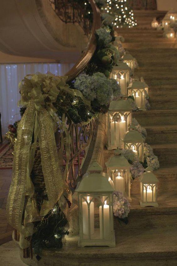 Χριστουγεννιάτικη διακόσμηση με κεριά58