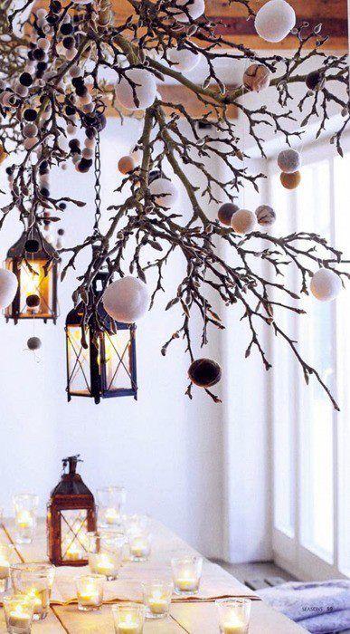 Χριστουγεννιάτικη διακόσμηση με κεριά59