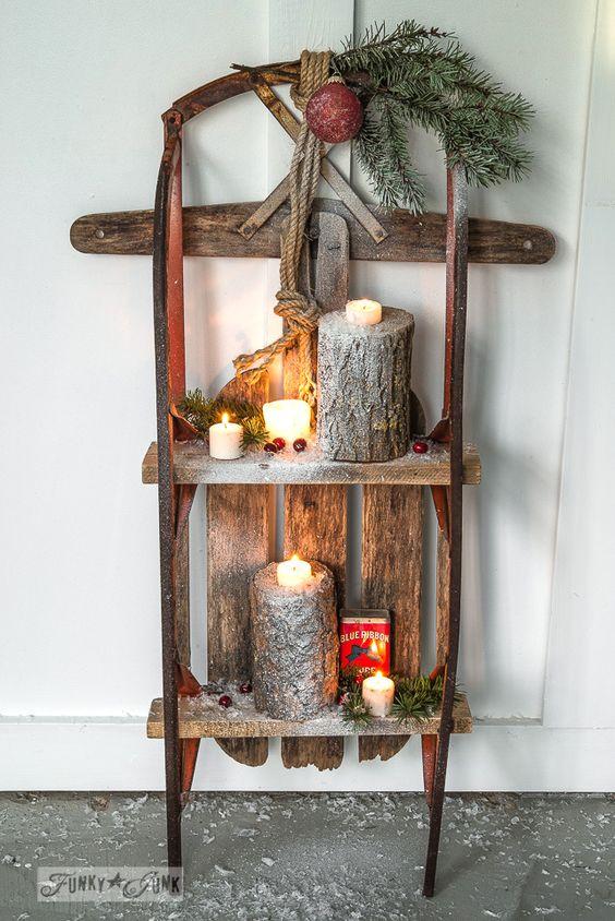 Χριστουγεννιάτικη διακόσμηση με κεριά60