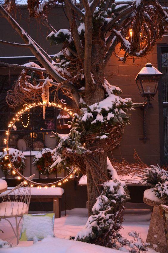 χειμωνιάτικος φωτισμός εξωτερικού χώρου27