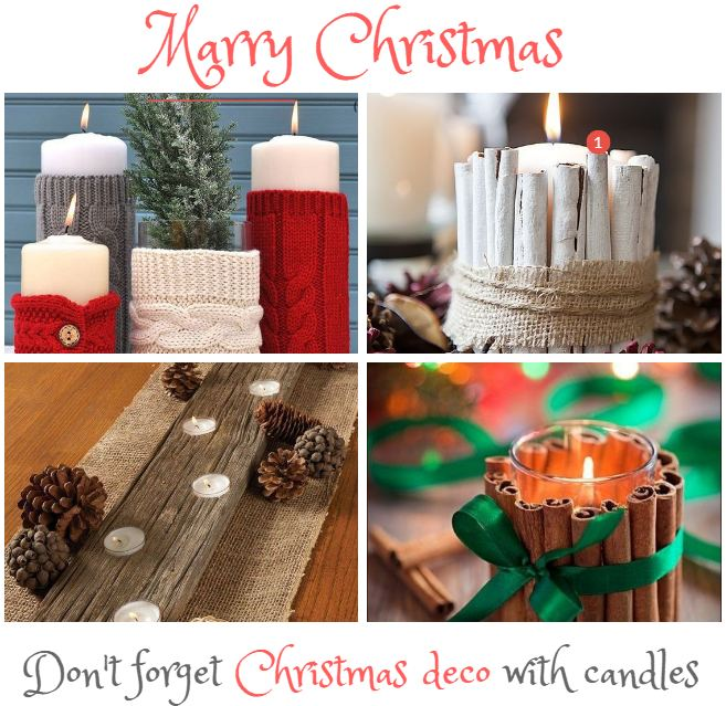 Christmas deco with candles