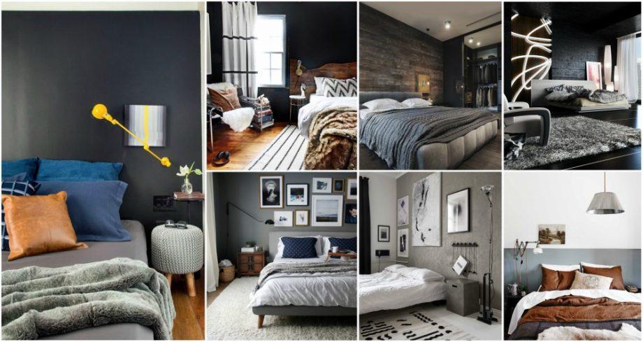 20 Ανδρικά υπνοδωμάτια που θα καταπλήξουν και τις γυναίκες επίσης