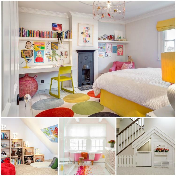 Απίθανοι τρόποι να διακοσμήσετε το σπίτι σας έχοντας τα παιδιά στο μυαλό σας