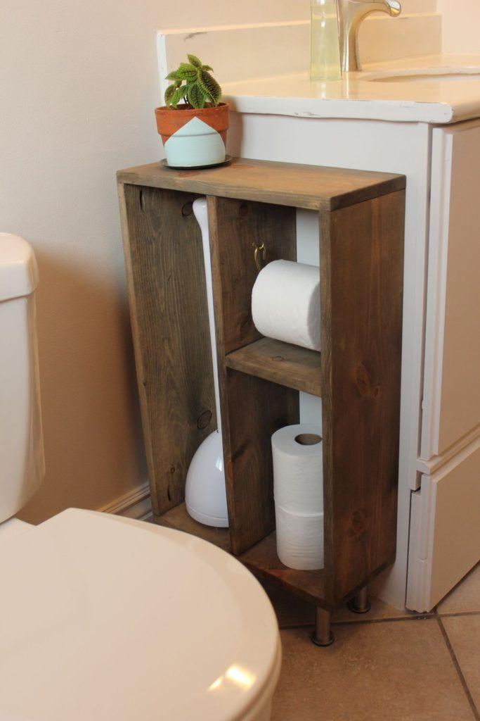 ιδέες κάθετης αποθήκευσης μπάνιου7