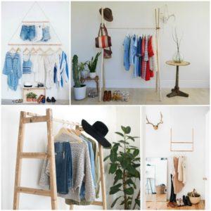 δημιουργικές ιδέες με κρεμάστρες ρούχων