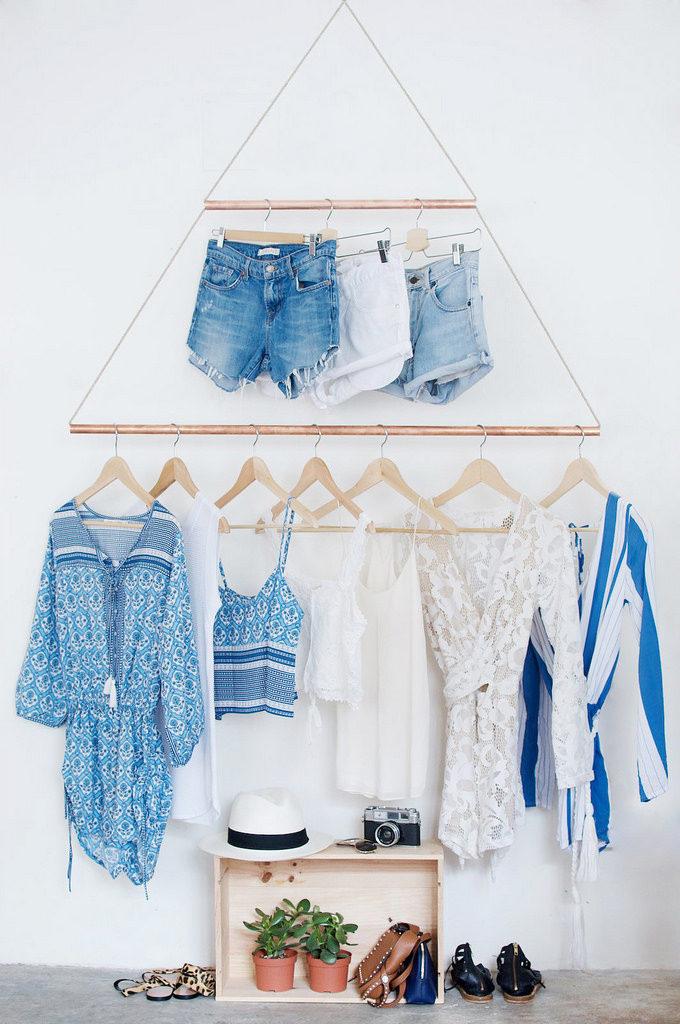 δημιουργικές ιδέες με κρεμάστρες ρούχων1