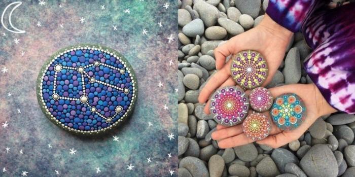 ζωγραφική μάνταλα σε πέτρες και βότσαλα16