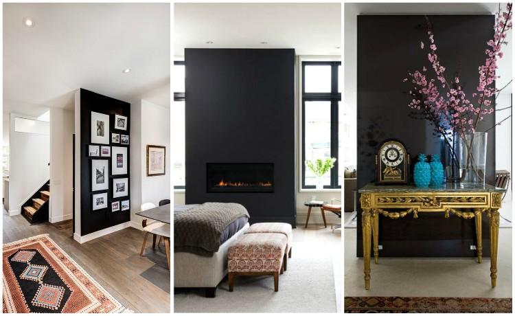 μαύρος τοίχος ιδέες