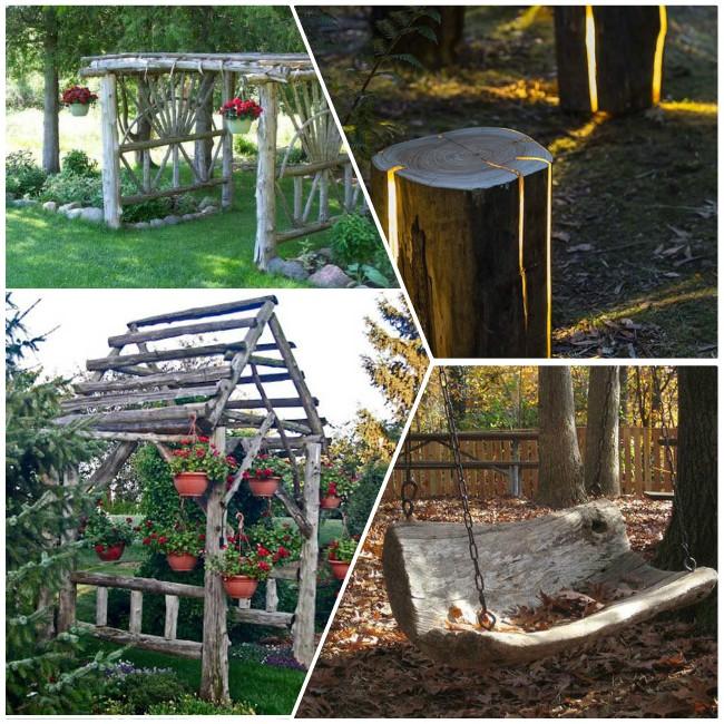 Θεαματικά DIY έργα από ξύλο για τον κήπο σας