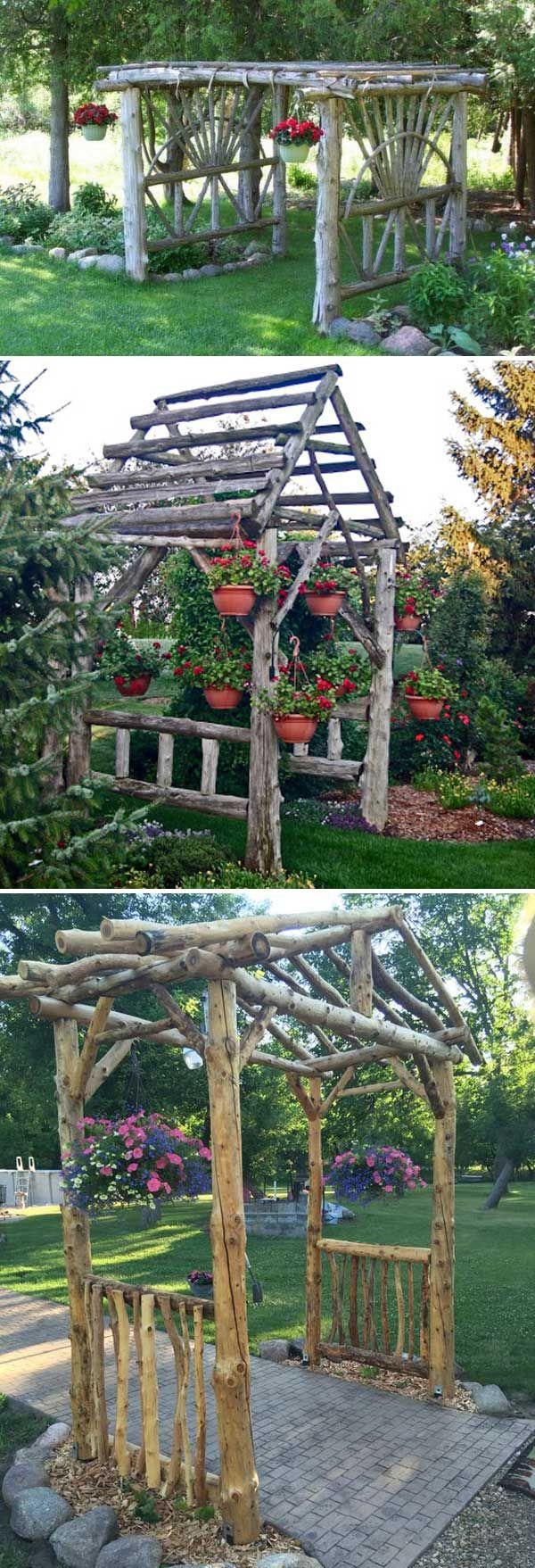 DIY έργα από ξύλο για τον κήπο12
