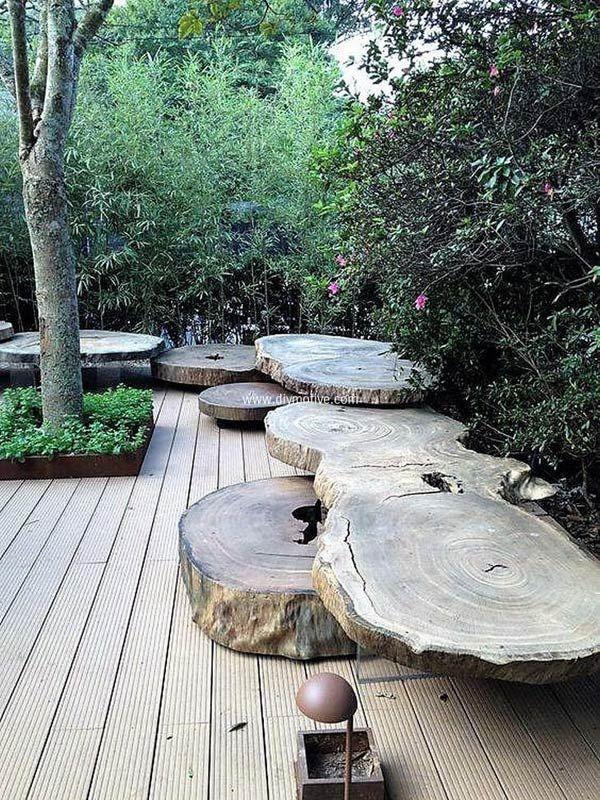 DIY έργα από ξύλο για τον κήπο14