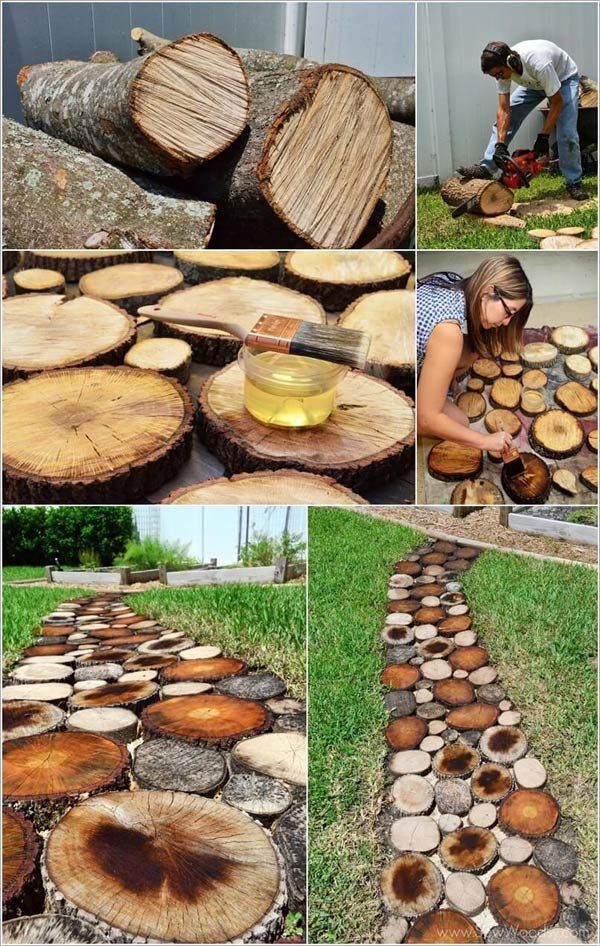 DIY έργα από ξύλο για τον κήπο15