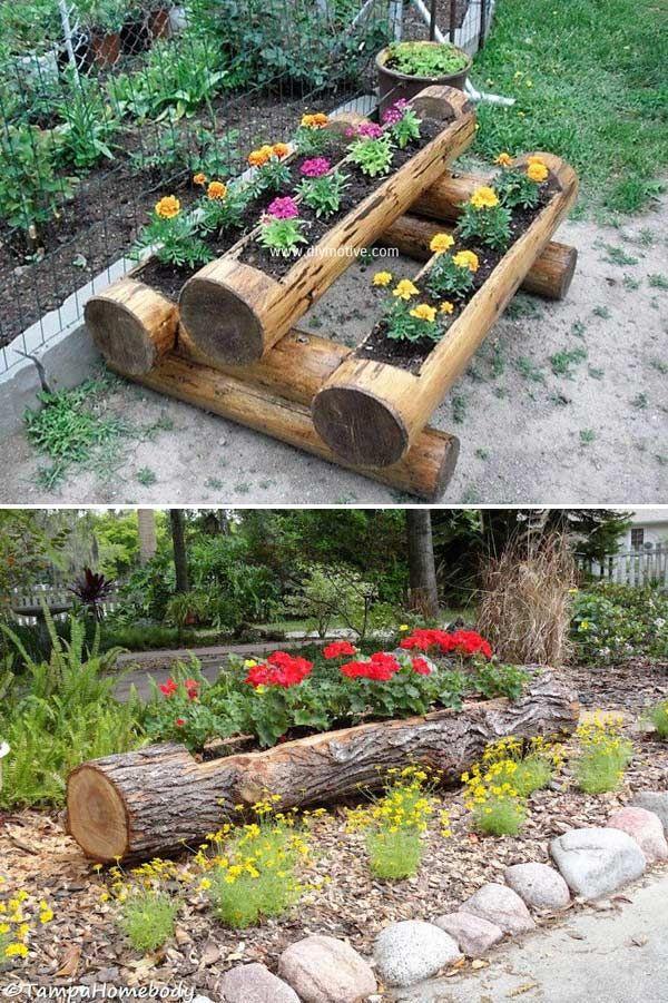 DIY έργα από ξύλο για τον κήπο16