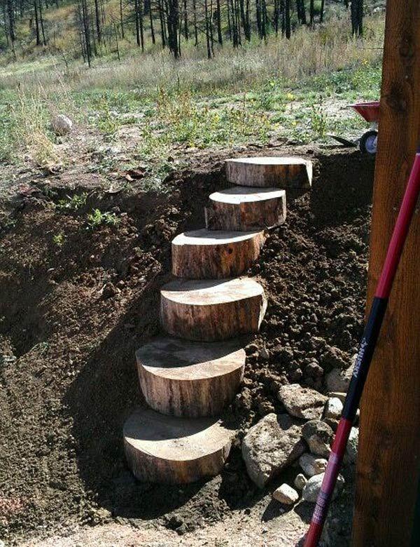 DIY έργα από ξύλο για τον κήπο19
