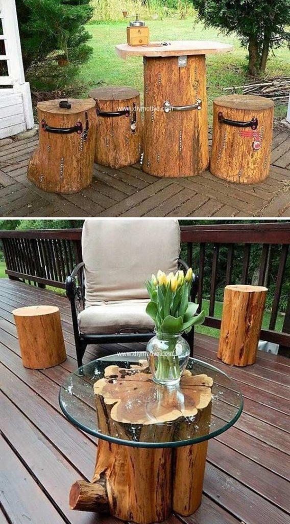 DIY έργα από ξύλο για τον κήπο4