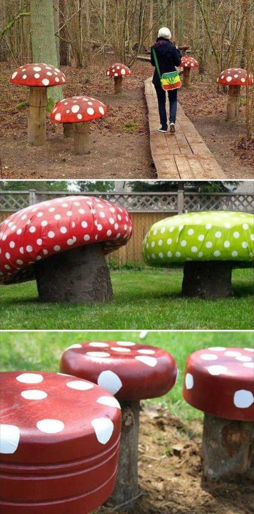 DIY έργα από ξύλο για τον κήπο5