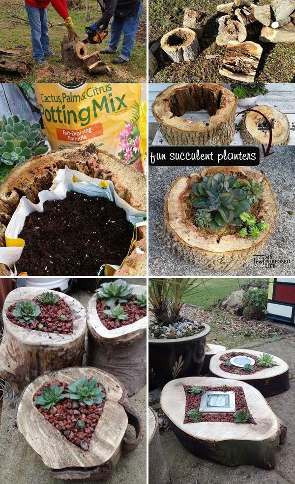 DIY έργα από ξύλο για τον κήπο8