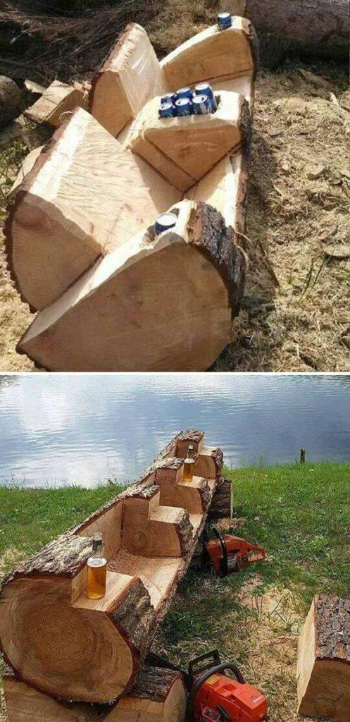 DIY έργα από ξύλο για τον κήπο9