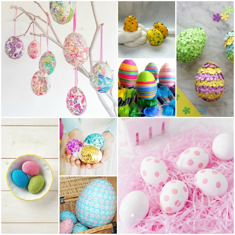 texnotropieskaidiakosmisi - αυγά από φελιζόλ για το Πάσχα