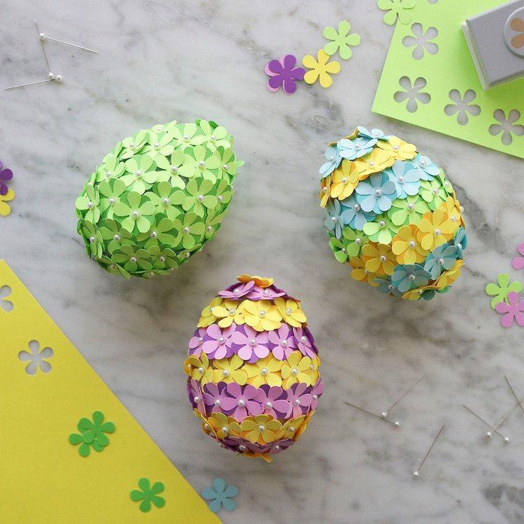 texnotropieskaidiakosmisi - αυγά από φελιζόλ για το Πάσχα2