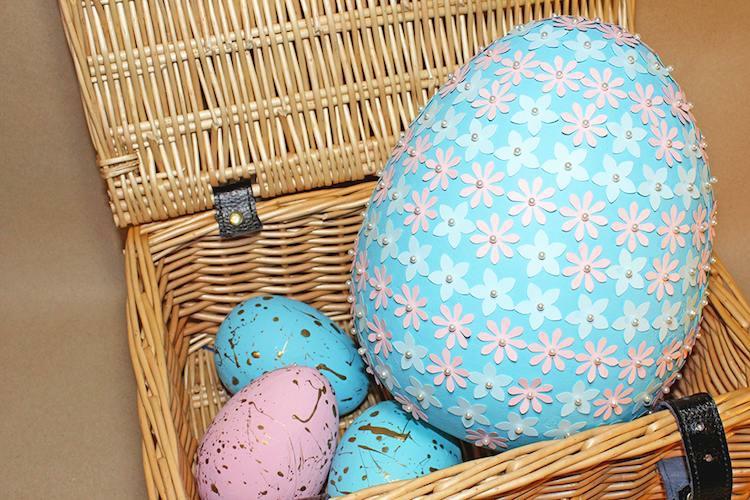 texnotropieskaidiakosmisi - αυγά από φελιζόλ για το Πάσχα20