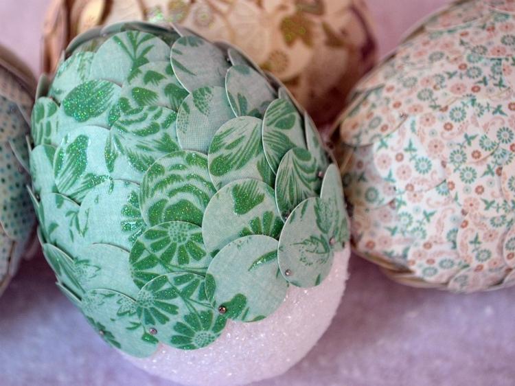 texnotropieskaidiakosmisi - αυγά από φελιζόλ για το Πάσχα4