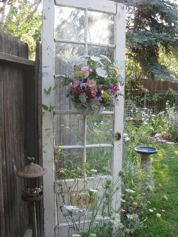 Shabby Chic ιδέες κήπου13