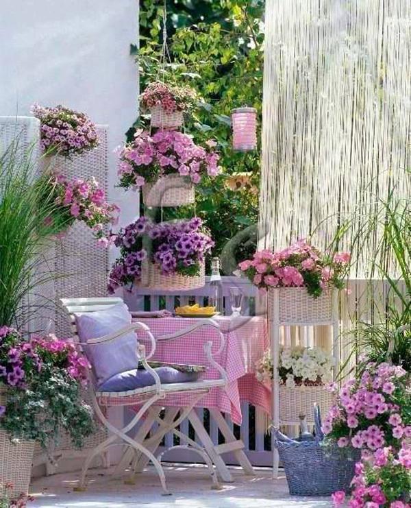 Shabby Chic ιδέες κήπου3