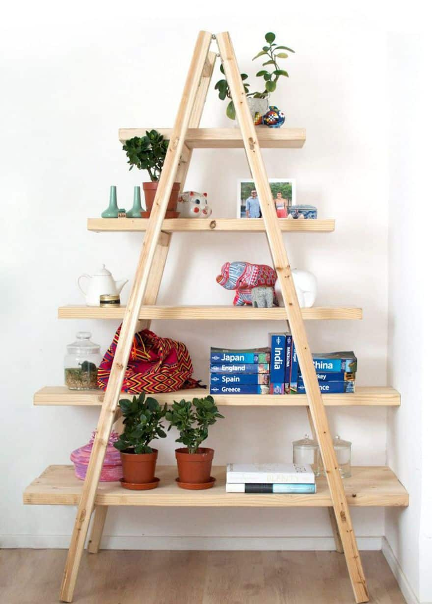 Ιδέες ραφιών με σκάλες6