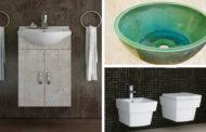 Βρες νιπτήρες, έπιπλα μπάνιου και λεκάνες που θα αναβαθμίσουν το μπάνιο σου