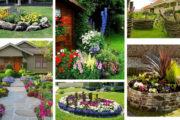 Λουλούδια μπροστά από το σπίτι: 30 ενδιαφέρουσες ιδέες για την καλύτερη είσοδο της γειτονιάς