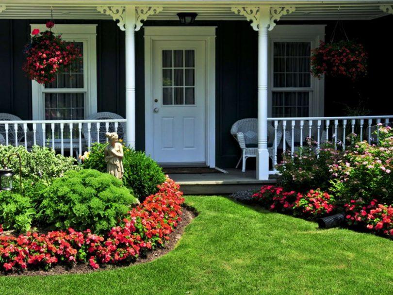Λουλούδια μπροστά από το σπίτι5
