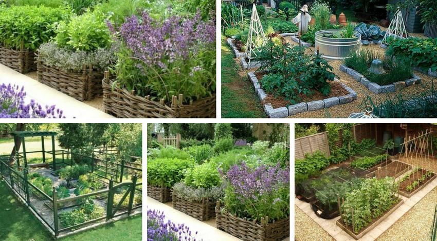Καταπληκτικοί τρόποι για να σχεδιάσετε το δικό σας κήπο λαχανικών