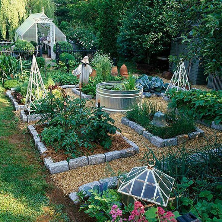 αστικός κήπος λαχανικών ιδέες1